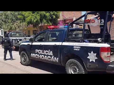 VIDEO Gatilleros irrumpen en su casa y le dan muerte en Tangancícuaro