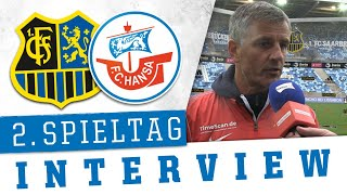 Interview nach dem 2. Spieltag