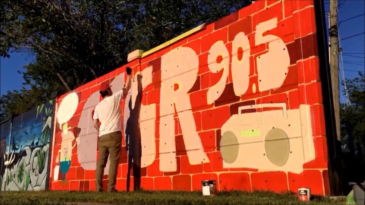 The Cfcr Saskatoon Community Radio Mural Youtube