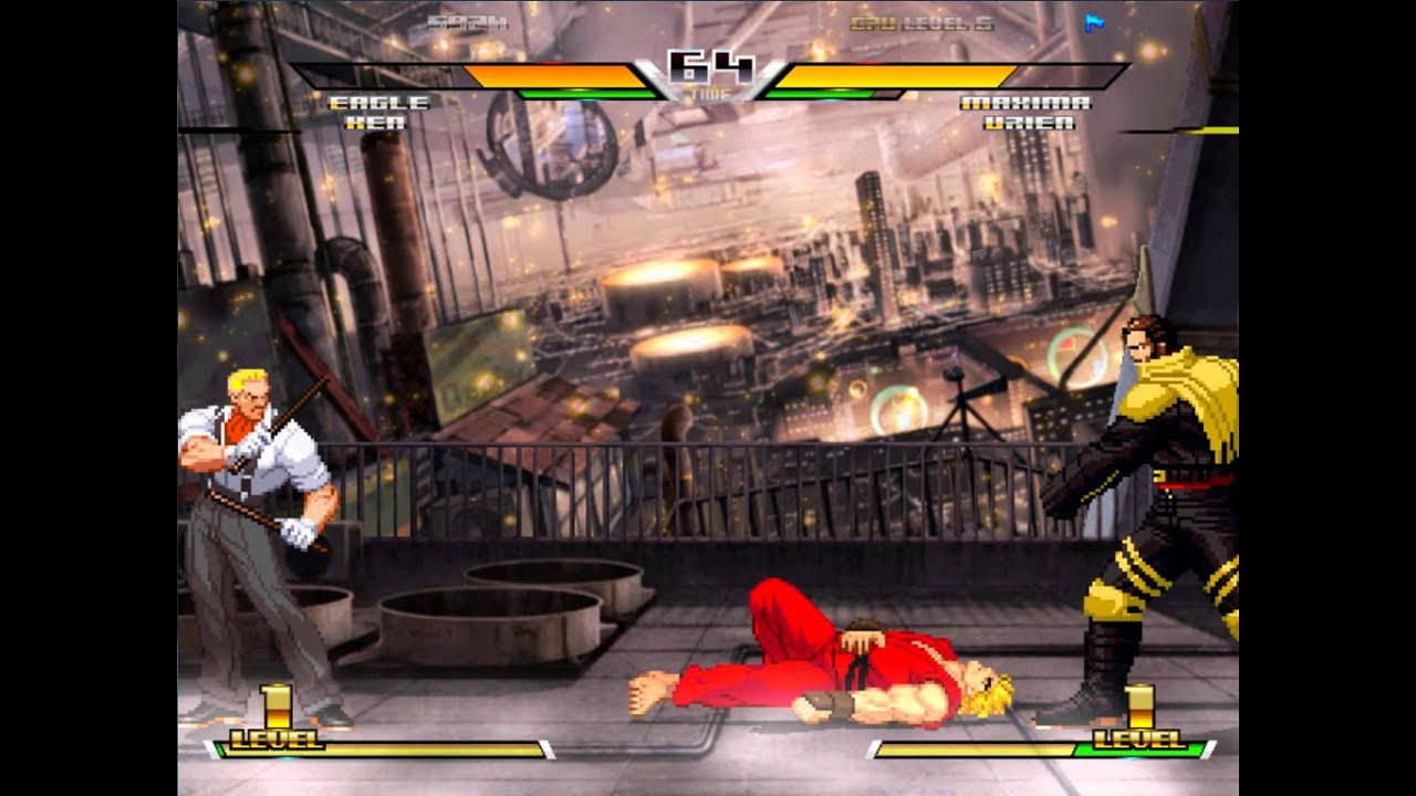 capcom vs snk  cvs  tag warzone m - mugen gameplay