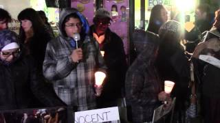 Vigil Held in Coney Island for Victims of Pakistani School Massacre 12/17/2014