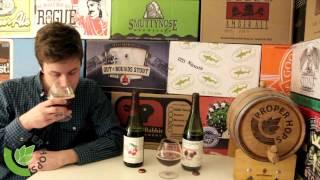 Wisconsin Belgian Red + Raspberry Tart (new Glarus Brewing) | Proper Hops #266