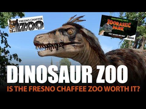 Fresno Zoo + New Zoorassic Park ... Is It Worth It?