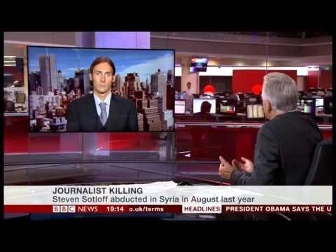 BBC Newschannel: Matthew VanDyke interview Sept 3rd 2014
