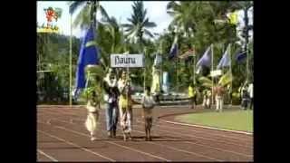 "Délégations des IX émes Mini Jeux WF 2013 - "" Cook , Fiji , Nauru , Niue, Norfolk ..."""
