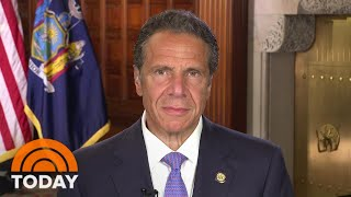 Andrew Cuomo: 'We're Seriously Considering A Quarantine' For Visitors From Out Of State   TODAY