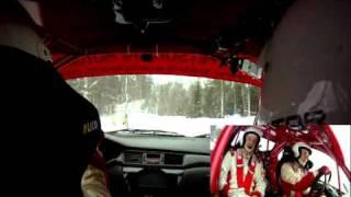 Patrik Johansson Rally Sweden 2011 Vargåsen