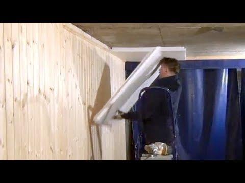 Утепление потолка. Утепление пенопластом гаража
