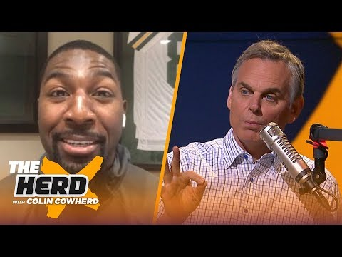 Greg Jennings joins Colin Cowherd to talk Patriots, Aaron Rodgers and more | NFL | THE HERD