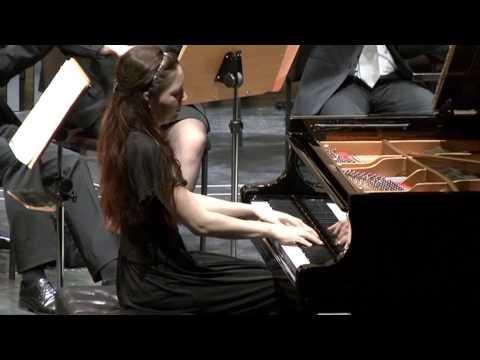 Ekaterina Litvintseva plays Rachmaninov Concerto no. 1 op.1 fis-moll, 2nd and 3rd parts