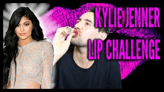 kylie jenner lip challenge   alx james
