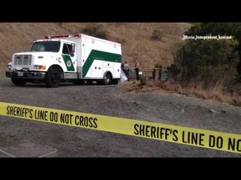 VIDEO: Marin County Sheriffs  investigates a homicide on the top of White Hill in Fairfax.