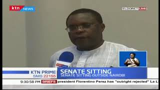 Kenyan MPs having first sitting of the Senate outside Nairobi