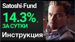 Satoshi Fund +14.3% за сутки! ИНСТРУКЦИЯ! Отзывы. Регистрация