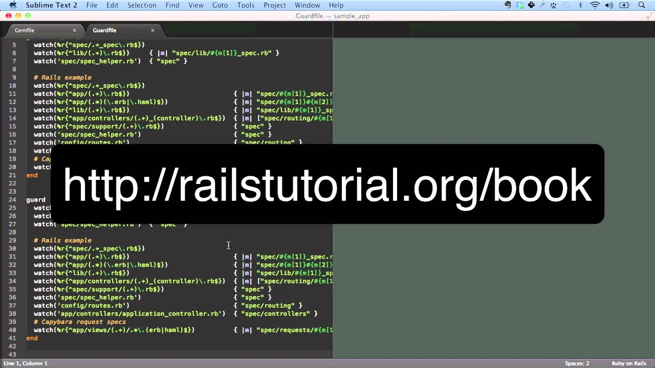 Ruby on rails tutorial advanced setup youtube ruby on rails tutorial advanced setup rubyonrailstutorial baditri Images