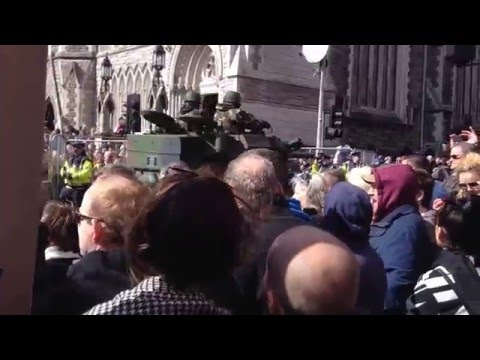 2016 EasterRising Centenary Parade - Army
