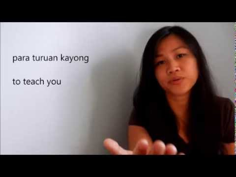 Introduction to Tagalog (Filipino) Language - with English and Tagalog subtitles