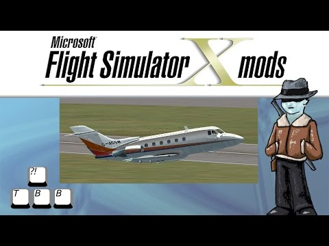 Flight Simulator X Plane Spotlight - British Aerospace BAe125