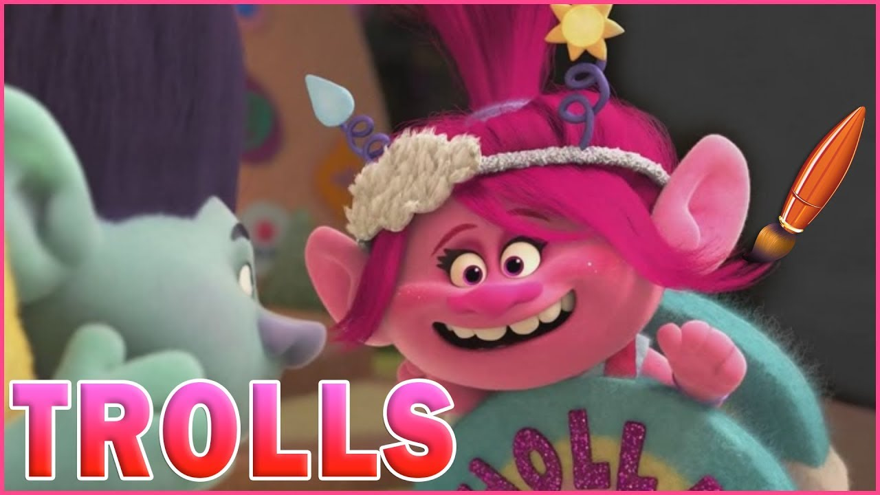 Coloring Pages Trolls : Trolls holiday coloring poppy branch troll kids coloring book