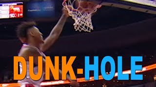NBA DUNK-HOLE Highlights 10-19-2017