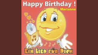 Happy Birthday ! Das Schlager Geburtstagslied für Marianne