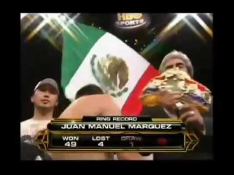 Juan Manuel marquez vs el torito concepcion