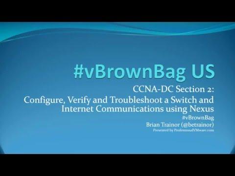 #vBrownBag Follow-Up 640-911 Config, verify, & troubleshoot a switch w VLANs w @betrainor