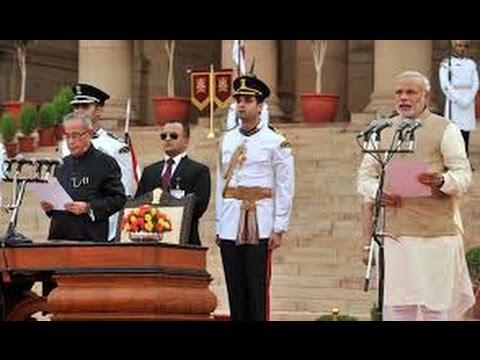 Shri Narendra Modi's swearing-in ceremony as Prime Minister of India at Rashtrapati Bhavan