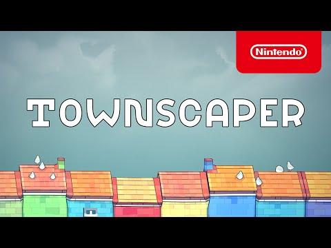 Townscaper - Launch Trailer - Nintendo Switch