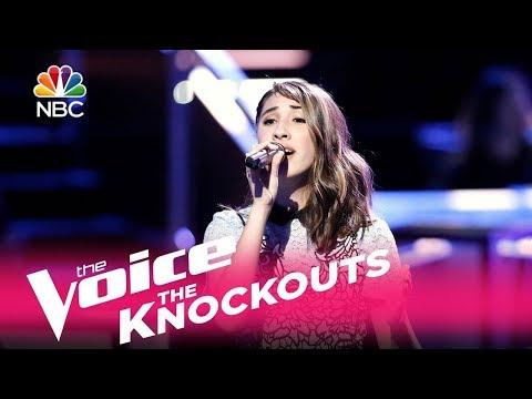 "The Voice 2017 Knockout - Hanna Eyre: ""Bleeding Love"""