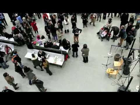 St Pancras International Flamenco Flashmob - Extended versio