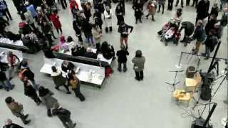 St Pancras International Flamenco Flashmob - Extended version - 22 February 2013, London