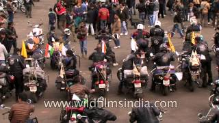 Wild Hogs showdown on Royal Enfield bikes in Nagaland