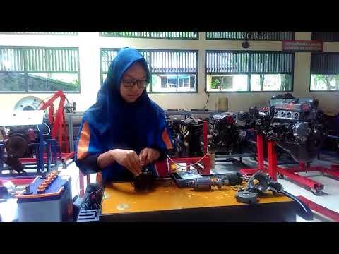 Pembongkaran, Pemasangan Dan Pengecekan Motor Starter
