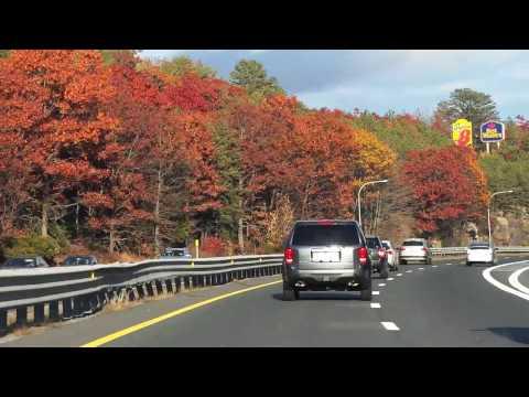 Driving through Rhode Island