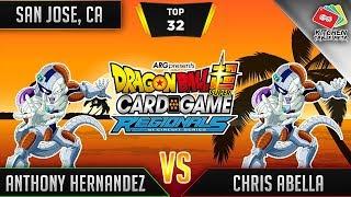 Dragon Ball Super Card Game Gameplay [DBS TCG] San Jose Regional Top 32