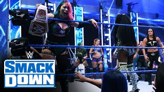 Asuka crashes Women's Triple Brand Battle Royal: SmackDown, August 14, 2020