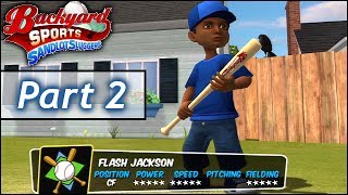 Backyard Baseball: Part 2 - Is Flash Jr. Clutch? (Flash vs Pablo II)