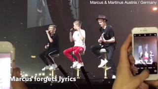 Marcus & Martinus FAILS ON STAGE | part 2