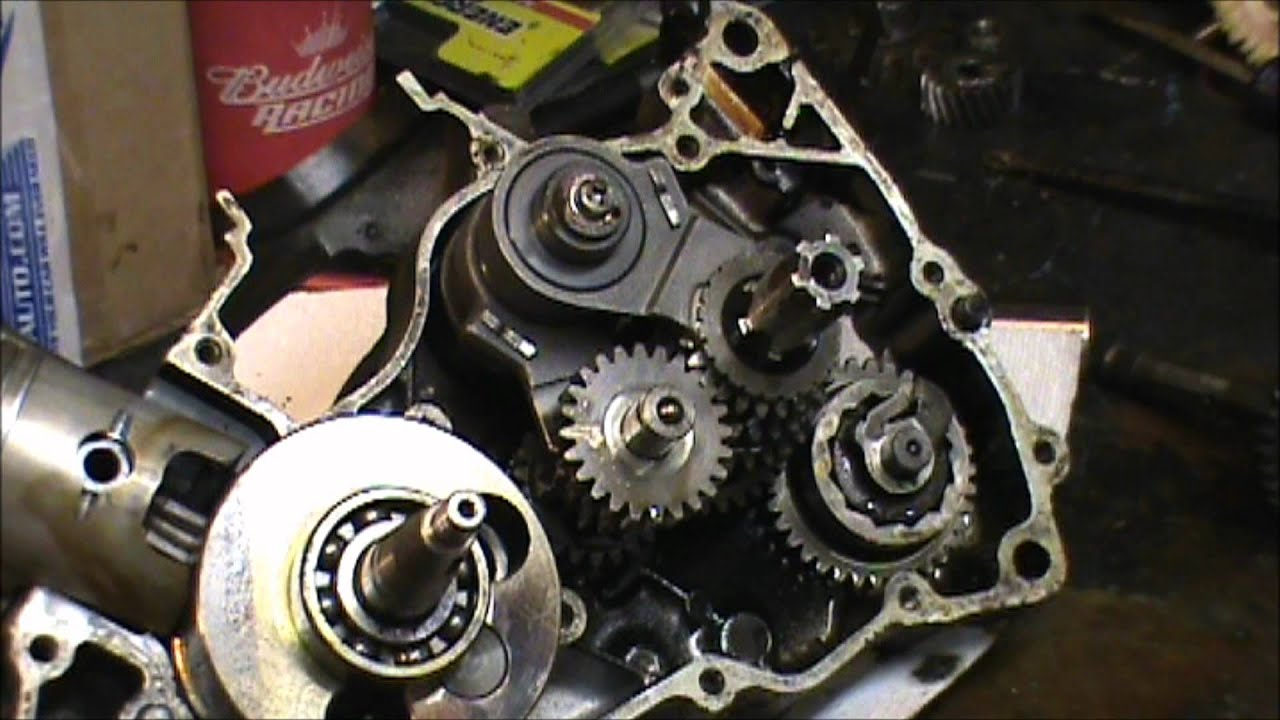 110 Atv Stator Wiring Diagram Kickstart Replacement And More Youtube