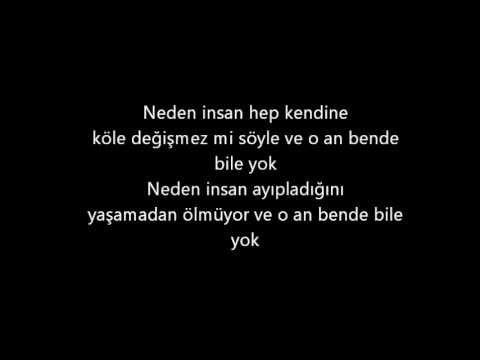 Gece - Ben Öldüm (Lyrics)