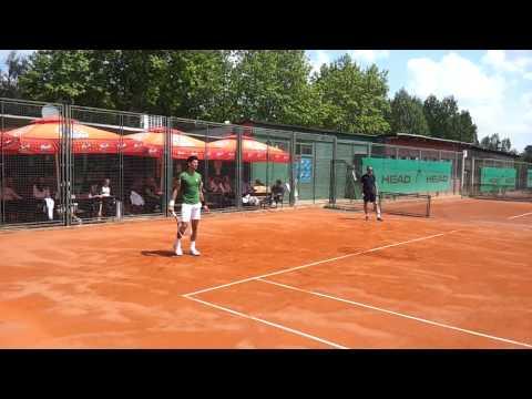 Novak Djokovic and Filip Krajinovic - open training in Belgrade