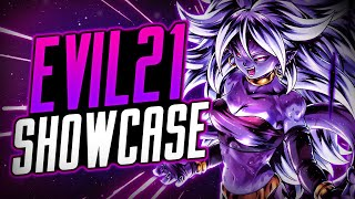 *TRANSFORM** ANDROID 21: EVIL SHOWCASE! | Dragon Ball Legends