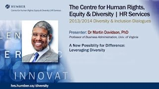Diversity and Inclusion Dialogues: A New Possibility for Difference