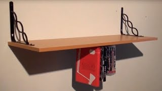 Build an UPSIDE DOWN SHELF!