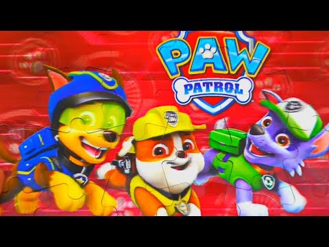 Paw Patrol Ravensburger Puzzle and of the mirror picture Paw Patrol Games for Kids