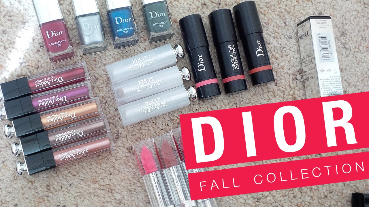 Looks - Cosmopolite dior fall makeup collection video
