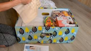 ⭐Украинский Бэби-бокс (Baby-box)⭐Распаковка⭐Обзор. Что внутри?⭐ Июль 2019⭐ ✈Toyexpress.com.ua✈