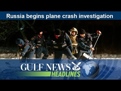 Russia begins plane crash investigation - GN Headlines