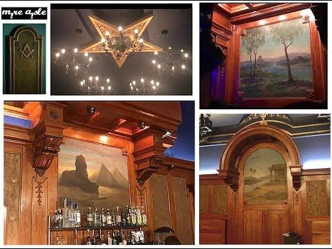 1922 Highland Park Masonic Temple | Lodge Room